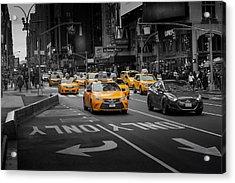 Taxi Please Acrylic Print
