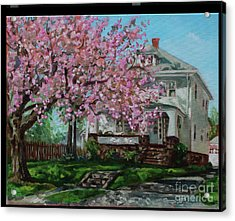 Taylor Cherry Tree Acrylic Print