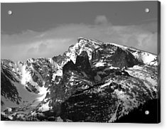 Acrylic Print featuring the photograph Taylor Peak by Perspective Imagery