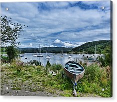 Tayvallich Harbour Acrylic Print