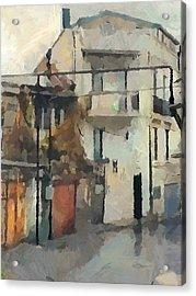 Tbilisi Old Streets 1 Acrylic Print
