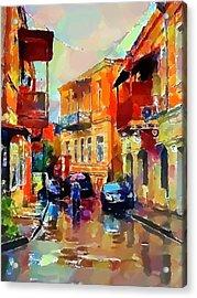 Tbilisi Old Streets 3 Acrylic Print