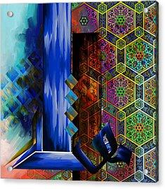 Tc Calligraphy 105 Al Muqtadir 2 Acrylic Print