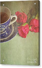 Tea And Roses Acrylic Print