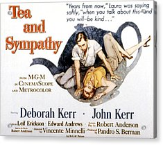 Tea And Sympathy, John Kerr, Deborah Acrylic Print by Everett