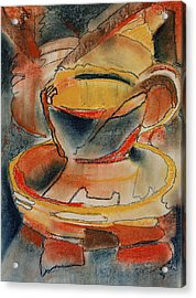 Tea For One - Korea Midnight Series Acrylic Print by Shirley McMahon