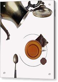 Tea For One Acrylic Print by Steven Huszar