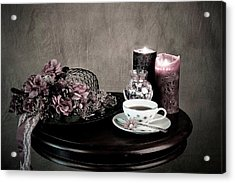 Tea Party Time Acrylic Print by Sherry Hallemeier