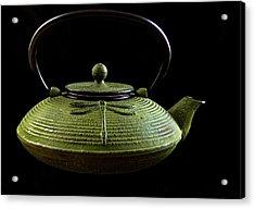 Tea Pot Acrylic Print by Jean Noren