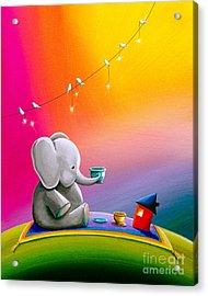 Tea Time Acrylic Print by Cindy Thornton