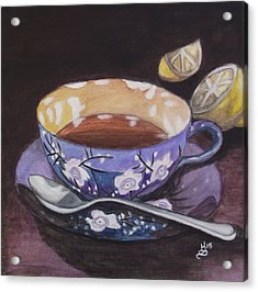 Tea Time Acrylic Print by Kim Selig