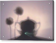 Tea Time Acrylic Print by larisa Fedotova