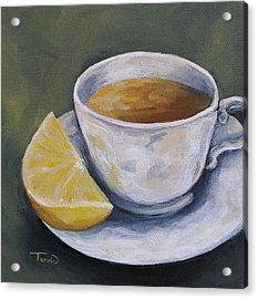 Tea With Lemon Acrylic Print by Torrie Smiley
