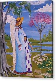 Teach Me II Acrylic Print by Sonja Griffin Evans