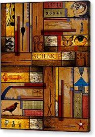 Teacher - Science Acrylic Print by Carol Leigh