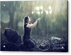 Teaches Me To Remain Stable In A Storm Acrylic Print