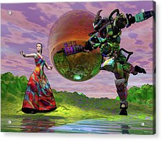 Teaching Bobo To Dance Acrylic Print