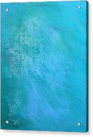 Acrylic Print featuring the painting Teal by Antonio Romero