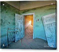 Teal Room Acrylic Print by Inge Johnsson
