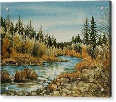 Teanoway River Wa Acrylic Print