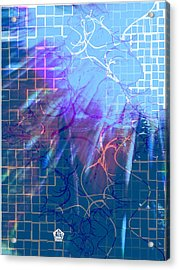 Tear In The Fabric Of Time Acrylic Print