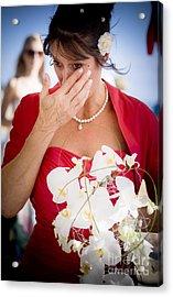 Tears Of Joy Acrylic Print by Jorgo Photography - Wall Art Gallery