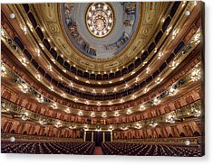 Teatro Colon Performers View Acrylic Print