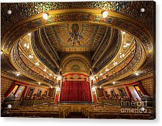 Teatro Juarez Stage Acrylic Print