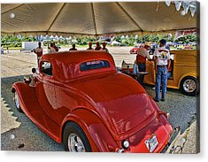 Tech Inspection Acrylic Print by Nick Roberts