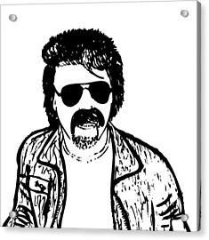 Ted - The Strange Man Acrylic Print by Karl Addison
