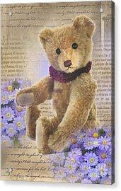 Teddy Bear Time Acrylic Print