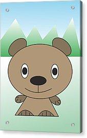 teddy  bear - My WWW vikinek-art.com Acrylic Print