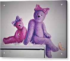 Teddy's Day Acrylic Print
