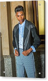 Acrylic Print featuring the photograph Teenage Casual Fashion 15042628 by Alexander Image