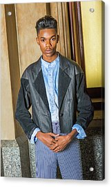 Acrylic Print featuring the photograph Teenage Casual Fashion 15042629 by Alexander Image