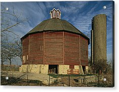 Teeple Barn, Built Circa 1885 By Dairy Acrylic Print by Ira Block