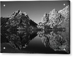 Teewinot Reflection Acrylic Print