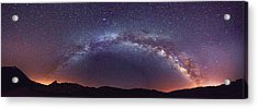 Acrylic Print featuring the photograph Teide Milky Way by James Billings