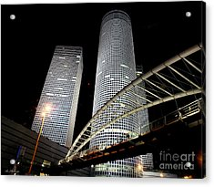 Tel Aviv Azrieli Towers Acrylic Print