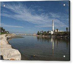 Acrylic Print featuring the photograph Tel Aviv Old Port 1 by Dubi Roman