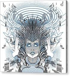Telepathy Acrylic Print