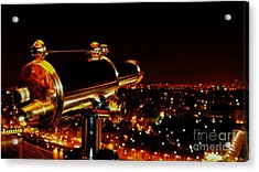 Acrylic Print featuring the photograph Telescope by Louise Fahy