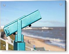 Telescope Acrylic Print by Tom Gowanlock