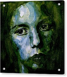 Tell Methere's A Heaven Acrylic Print by Paul Lovering