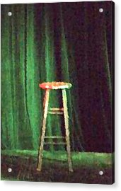 Tell The World I'm Sorry Acrylic Print