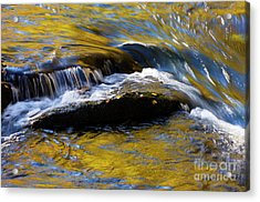 Acrylic Print featuring the photograph Tellico River - D010004 by Daniel Dempster