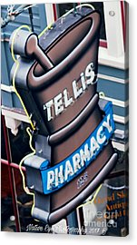 Tellis Pharmacy/ King Street Acrylic Print