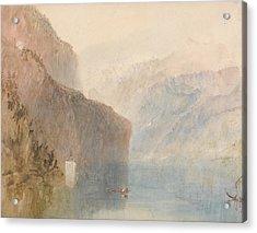 Tell's Chapel Lake Lucerne Acrylic Print