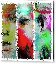 Temper Acrylic Print by Sir Josef - Social Critic - ART