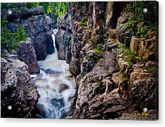 Temperance River Gorge Acrylic Print